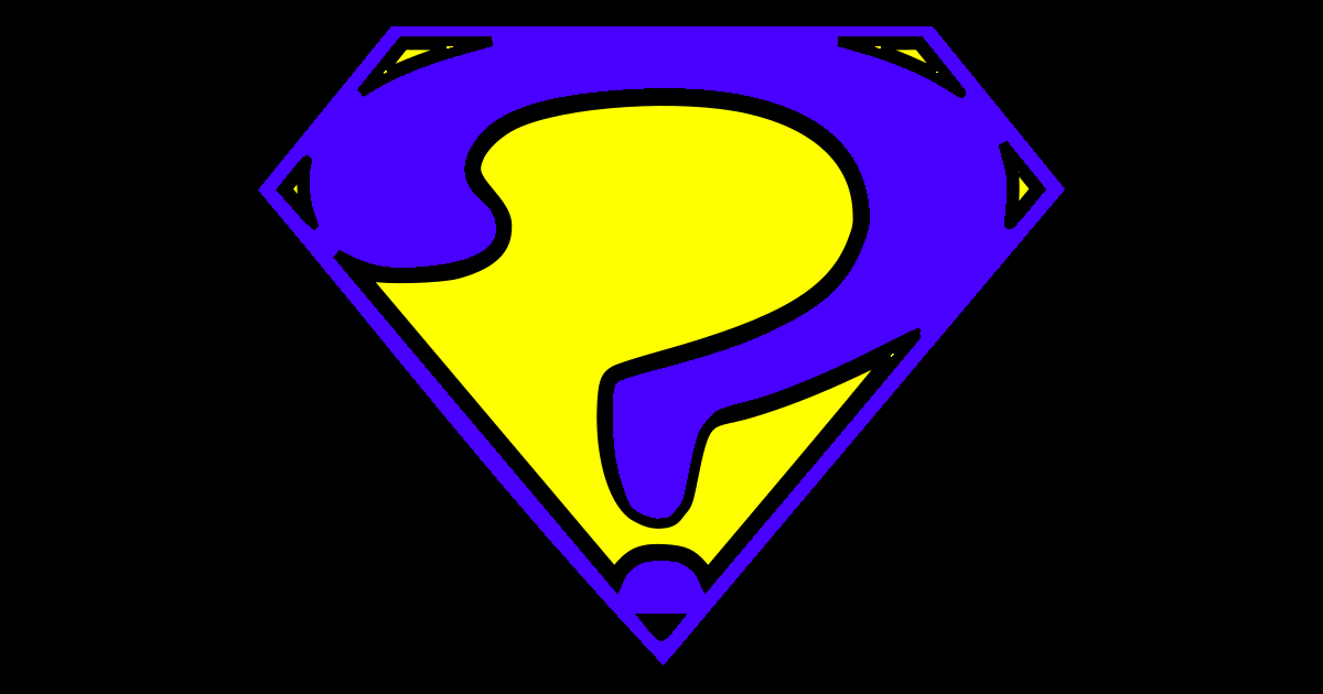 Supervillain Quiz Logo